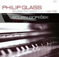 PHILIP GLASS / BOJAN - PHILIP GLASS: ETUDES PIANO 11 GORISEK - PHILIP VINYL