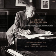 RACHMANINOV - RACHMANINOV PLAYS RACHMANINOV: PIANO CONCERTOS 1-4 VINYL