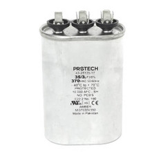 Rheem 43-25135-17 35/3Mfd 370V Oval Run Capacitor