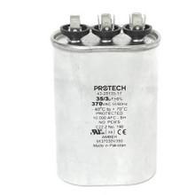 Rheem 43-25135-17 35/3Mfd 370V Oval Run Capacitor