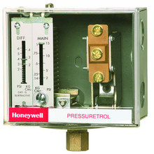 Honeywell L404V1095 Pressuretrol,5-50#,Open Lo, Snap