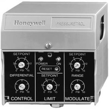 Honeywell P7810C1018 Solid State Pressuretrol 0-150# On/Off, Modulate & Limit Control