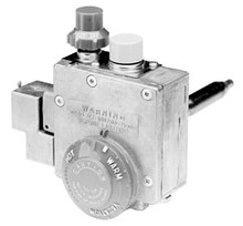 "Robertshaw 110-265 Water Heater Valve, 1/2"" Left Hand Thread, Lp, 160"