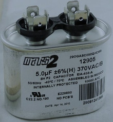 Mars Parts 5M, 370V Capacitor Part # 12905 (Set of 10)