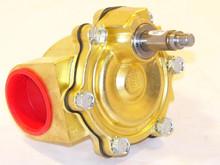 """Parker Fluid Control 73218BN87N00 1.5""""Nc 5/125 Pilot Op Brass"""