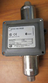 United Electric J21K-140 Spdt 0-6 Nema 4 Diff  Switch