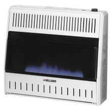 Williams Comfort Products 3056512.9 30,000 Btu Vent Free Natural Gas Heater