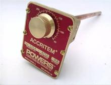 Powers Process Controls 744-1214 50/350F RA Rigid Blb Air Operated