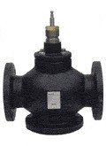"""Siemens Building Technology 599-06167 4"""" Mixing Valve Stainless Steal Trim"""