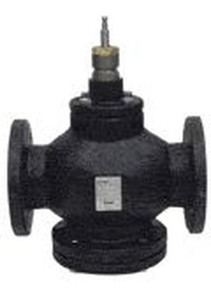 """Siemens Building Technology 599-05961 3""""N/O Stainless Steal Trim Mod Flanged Valve"""