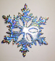 "6"" - 48"" HOLOGRAPHIC SNOWFLAKE STYLE A"