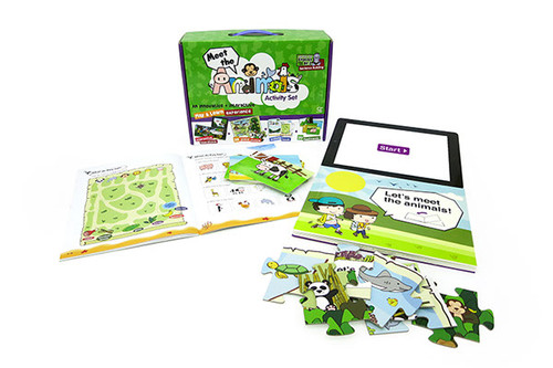Interactive Activity Set - Meet the Animals - Beluga Limited -----