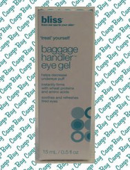 BLISS BAGGAGE HANDLER EYE GEL with FREE SHIPPING