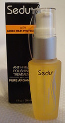 SEDU ANTI-FRIZZ POLISHING TREATMENT PURE ARGAN OIL with FREE SHIPING