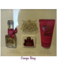 VIVA LA JUICY PARFUM SPRAY, LOTION and MINI EDP 3 PIECE GIFT SET