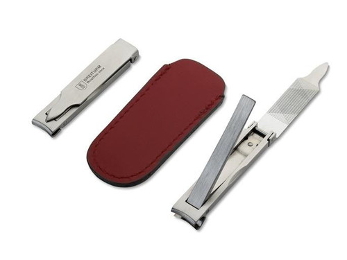 Nail Clipper with Leather Case