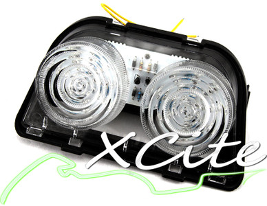 LED tail light - Clear TL22002