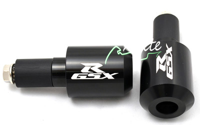 Black universal GSXR 600 750 1000 bar ends BE105BK