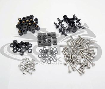 Fairing bolts kit, stainless steel, Honda CBR600RR 2007 - 2012 BT112