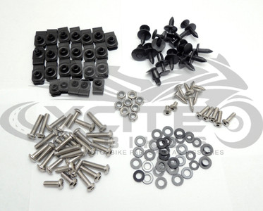Fairing bolts kit, stainless steel, Yamaha R1 2007-2008 BT121