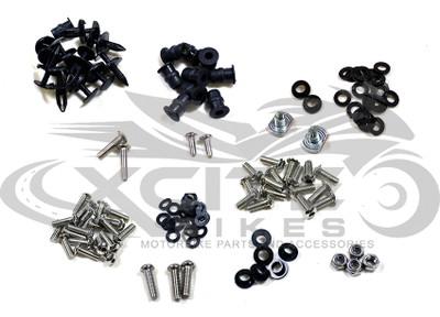 Fairing bolts kit stainless steel Kawasaki NINJA 250R 2008-2012 BT144