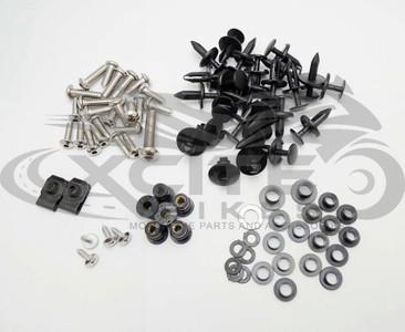 Fairing bolts kit, stainless steel, Suzuki GSXR1000 2007 2008 BT162