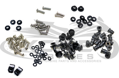 Fairing bolts kit, stainless steel, Honda CBR900RR 954, years 2002 and 2003