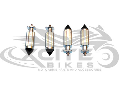 CBR250RR MC22 carburettor float valve needle set (4x) CRV001