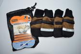 Aussie Dog Boots - Small - Tan / Black