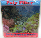 """Poly Bio Marine Products 12"""" x 12"""" Poly Sheet Filter Pad for Aquariums"""