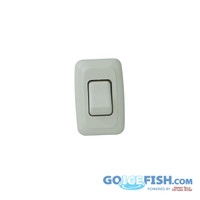 12V Single Switch (White)