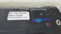 """Black Widow Toy Hauler 68.5"""" x 83"""" Door Cover"""