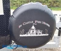 Ice Castle Spare Tire Cover Black