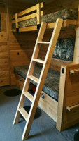 Cedar Bunk Ladder