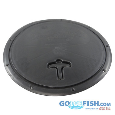 Fish hole buddy round hole cover goicefish for Ice fishing hole covers