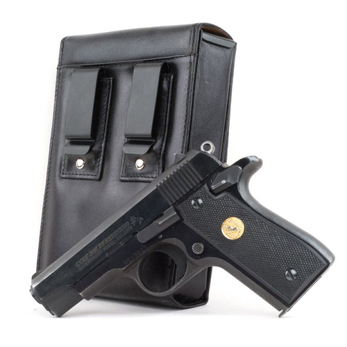 Colt Mark IV Series 80 (.380) Sneaky Pete Holster (Belt Clip)