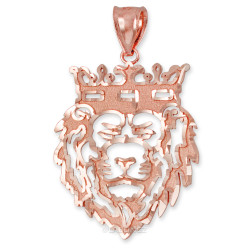 Rose Gold Lion King DC Pendant (S/L)