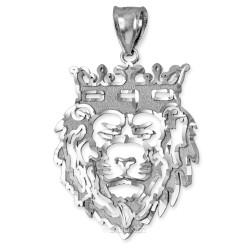 Sterling Silver Lion King DC Pendant (S/L)