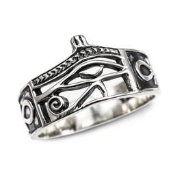 Silver Horus Eye Ring.