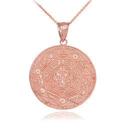 Rose Gold Chakra Necklace