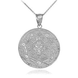Silver Chakra Necklace