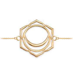 14K Gold Svadhishthana Chakra Yoga Bracelet