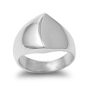 Designer Fashion Style Ring Sterling Silver 925