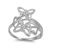 Butterfly Spring Sterling Silver 925