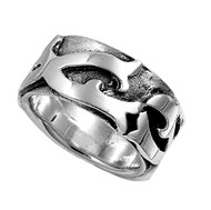 Tribal Artistry Ring Sterling Silver 925