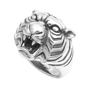 Eye of the Tiger Ring Sterling Silver 925