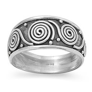 Bali Innovation Tribal Ring Sterling Silver 925