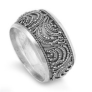 Filigree Adornment Balinese Ring Sterling Silver 925