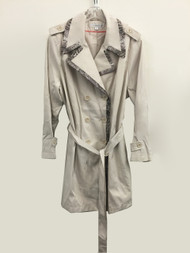 VIA SPIGA Trench Coat - Muslin Size 3X