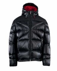 Spyder Men's Bernese Down Jacket, Black, Small